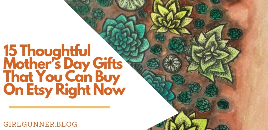Thoughtful Mother's Day gifts can be hard to find. Here are 15 great etsy finds that your mom will love!